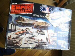 Maquette Star Wars Airfix Snap Fix ESB Hoth Rebel Base Set vintage mpc