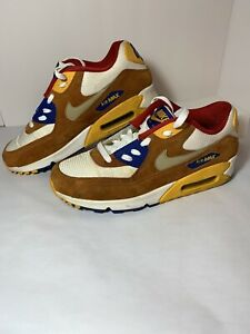 Nike Air Max 90 Premium 'Curry' 2015, Men Size 9.5 Stephen Edition/Pre-Owned