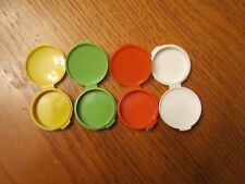 Mini Travel Pill Container Purse Round Single Clamshell You Choose Color