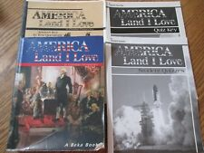 ABeka 8th grade America Land I Love set  (1st ed)