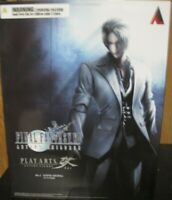 Play Arts Kai Rufus Shinra Final Fantasy Vii Advent Children Action Figure