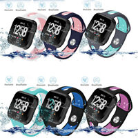 Silicone Rubber Replacement Classic Band Strap Wristband For Fitbit Versa Watch