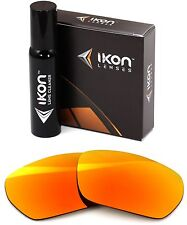 Polarized IKON Replacement Lenses For SPY Optic Blok Sunglasses Fire Mirror