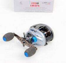 Quantum IR301HPT Iron PT Hi Speed Left Hand Baitcast Fishing Reel, NEW