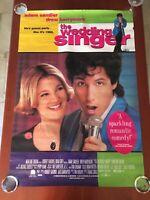 The Wedding Singer 1998 Comedy Film ORIGINAL 27x39 Poster w/80s ITEMS!!