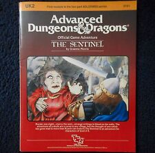 UK2 The Sentinel Advanced Dungeons & Dragons Adventure Module D&D RPG Game 9101