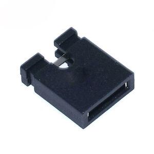 50PCS 5.08mm Pitch Black Open Jumper Short Cap Shunt Header for Circuit Board