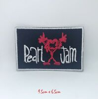 Pearl Jam American rock Music logo Iron on Sew on Embroidered Patch#726