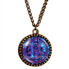 Black Butler Pentagram Necklace Tetragrammaton Anime Ciel Phantomhive Jewelry 16