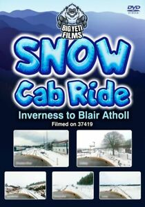 Snow Cab Ride: Inverness to Blair Atholl  *DVD