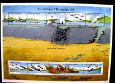 1488 PEARL HARBOR DECEMBER 7, 1991 MNH OG SS 1961 MNH OG (SEE ITEM DESCRIPTION)