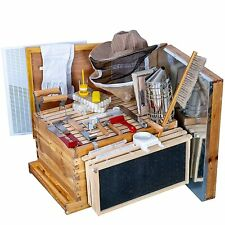 Beehive Starter Kit 8 Frame Bee Boxes And Frames Starter Kit Wax Coated Bee Hive