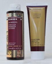Korres Body Fragrance Collection Vanilla/Freesia/Lychee Body Milk-Showergel
