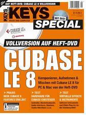 Cubase LE 8 Vollversion im Keys Special