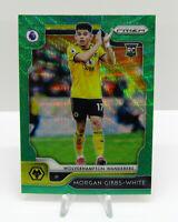 Panini 2019-20 Prizm Premier League Soccer Green Wave Morgan Gibbs-White Rookie
