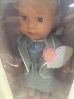 Pottery Barn Parker Gotz Doll New 18 Inch Nib Boy Doll Ebay