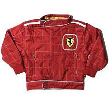 Rare Vintage Ferrari F1 Bomber Jacket Red Original Size 3/4 (1998)
