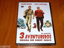 LES AVENTURIERS - 3 AVENTUREROS / LOS AVENTUREROS - Precintada