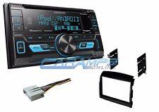 NEW KENWOOD CAR STEREO SIRIUS XM RADIO & AUX/USB W/ INSTALL KIT FOR 06-08 SONATA