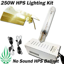 250W HPS MAGNETIC BALLAST WITH HPS LAMP HYDRPONICS WING SHADE GROW LIGHTING KIT