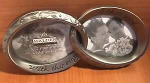 With This Ring I Thee Wed Pewter Wedding Ring Photo Picture Frame By Malden