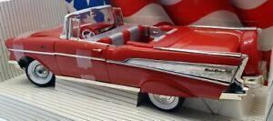 ERTL 1/18 Scale Model Car 7490 - 1957 Chevrolet Bel Air - Red