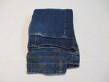Wassabi Premium Denim Boot Cut Jeans, Stretch, Blue Dark Wash, Low Rise, Size 8C