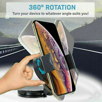 360° Kreative Auto-Saug Halterung Telefonhalter 360 Grad Rotation Handy-Cli G8F1