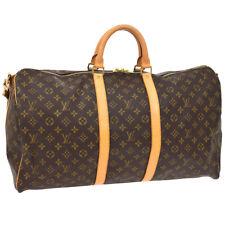 LOUIS VUITTON KEEPALL 55 BANDOULIERE TRAVEL HAND BAG PURSE M41414 FL0033 AK40282