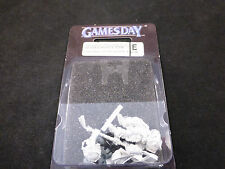 Gamesday 2008 GD08 Limited Edition Metal Space Marine Captain Sealed Blister