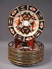 ROYAL CROWN DERBY ROYAL Traditional Imari Bread Butter Dessert Plate 2451