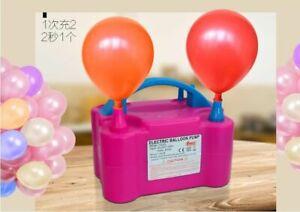 Automatic Pump Air Filling Inflatable Ballon Machine Portable Air Blower EU PLUG