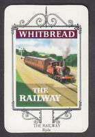 Whitbread - Inn Signs Isle Of Wight 1974 - # 25 The Railway