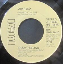 Lou Reed – Crazy Feeling, Vinyl, 45rpm, 1976, RCA, JH-10648, VG++ condition