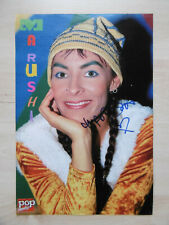Marusha DJ Autogramm signed A4 Magazinbild