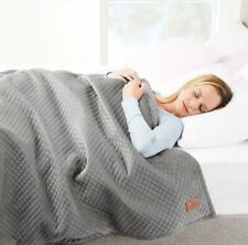 """Pendleton Microfiber Weighted Blanket Duvet Only 48"""" x 72"""" Gray"""