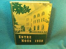 1950 HOWARD COLLEGE (Now Samford University B'ham) ENTRE NOUS Yearbook MORE C AD
