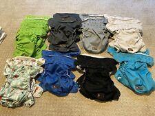 New ListingLot of used rumparooz cloth diapers