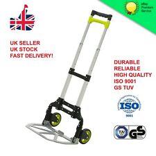 Heavy Duty Foldable Hand Sack Truck - Lightweight Trolley - Quality Certified!