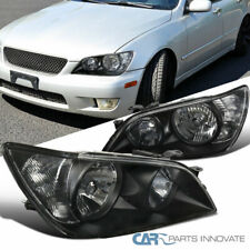 For 01-05 Lexus IS300 Black Replacement Headlights Head Lights Lamps Left+Right