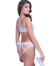ensemble lingerie sexy + masque ! Culotte ouverte fendue fesses & soutien gorge