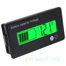 Capacity Indicator Digital Voltmeter 12V 24V 36V Lithium Battery Volt  Meter