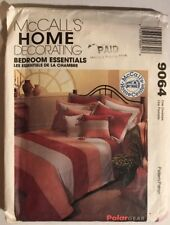 MCCALL'S HOME DECORATING BEDROOM 9064 PATTERN