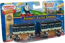 Stephen's Castle Coaches ~ Thomas & friends Wooden Train RARE! Y5022 Mattel 2013