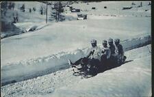 """Schweiz 84 auf Bildpostkarte 1907, gestempelt """"DAVOS """" #l677"""
