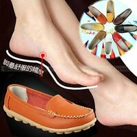 Womens Casual Flats 100% Genuine Leather Shoes Comfort Slip-on Moccasins 8 Color