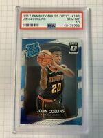 2017 John Collins Panini Donruss Optic Rookie Card RC #182 PSA 10 GEM MINT
