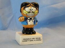 ENESCO  GARFIELD CAT RHETT BUTLER FIGURINE FRANKLY MY DEAR, I DON'T GIVE A DARN