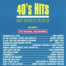Great Records of the Decade: 40's Hits Pop, Vol. 1 by Various Artists CD NEW