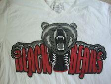Stall & Dean BEACH BEARS Baseball White V Neck Rare T shirt 2XL